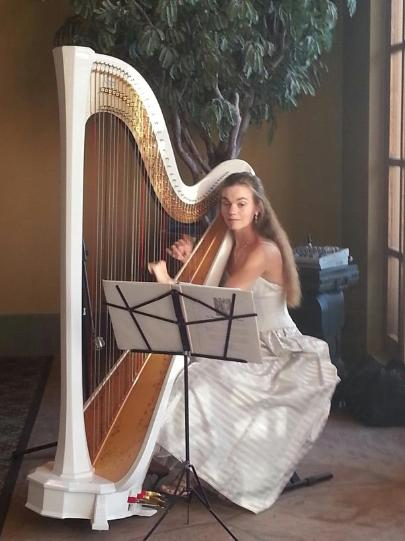 Harp music for corporate event