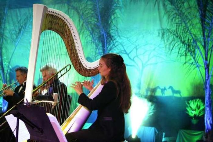 Harp at Indian Wells Gala Event